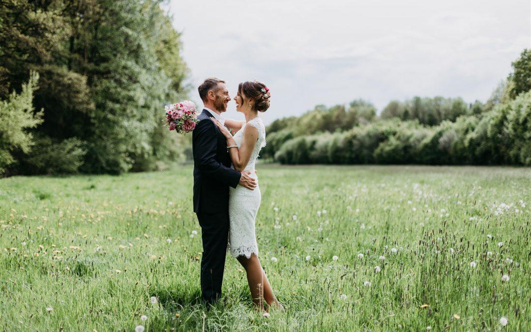 Maria & Wolfgang: Entspannte Hochzeit im kleinen Kreis