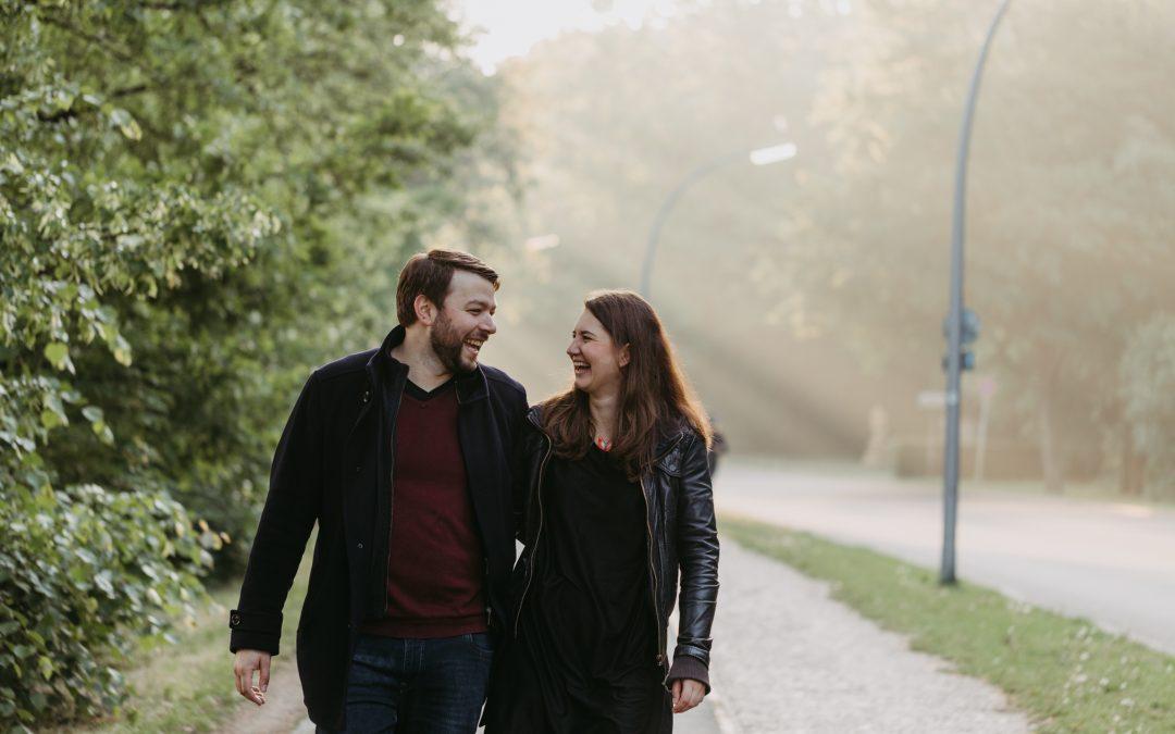 Engagement-Shooting für schöne Paarbilder vor eurer Hochzeit